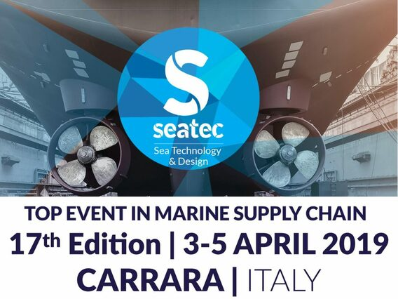 SEATEC CarraraFiere, 3-5 april 2019